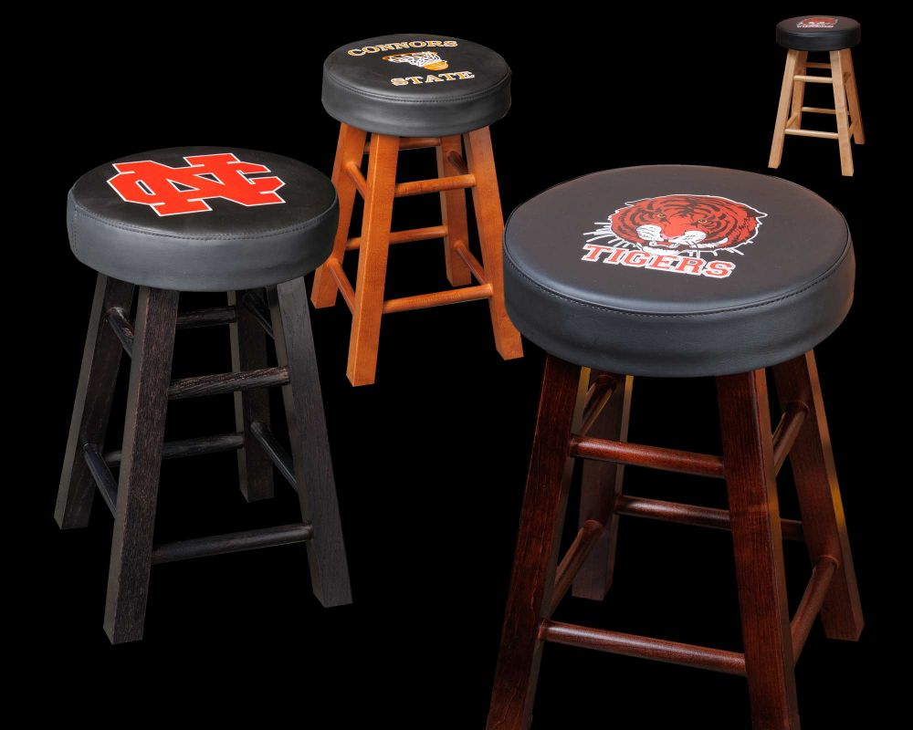 Matching Upholstered Bar Stools