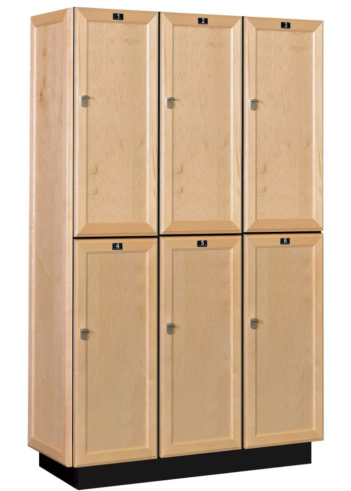 Solid Wood Club Locker