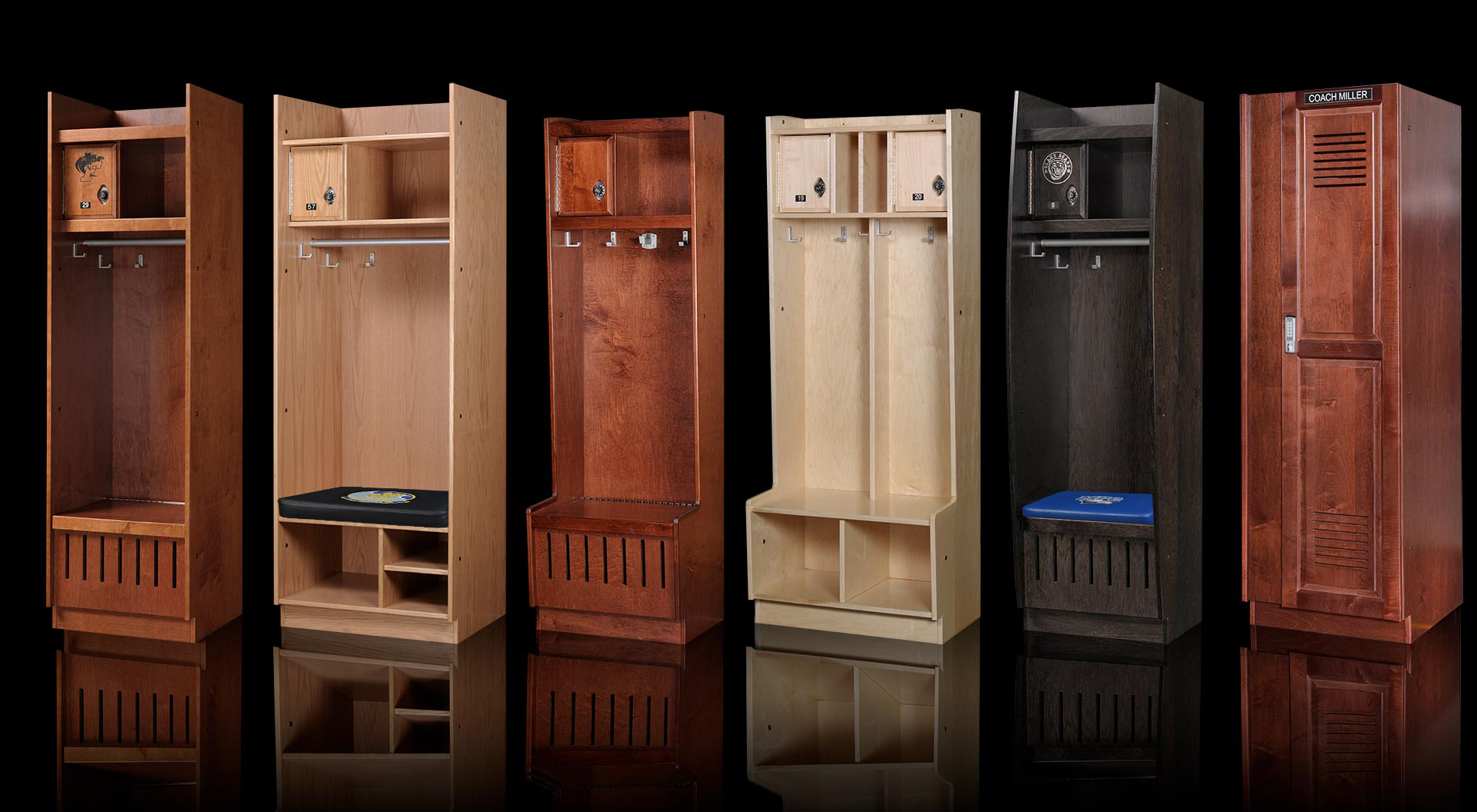 ood Sports Lockers